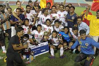 East Bengal team