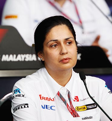 Sauber Chief Executive Monisha Kaltenborn