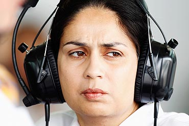 Sauber F1 Chief Executive Monisha Kaltenborn