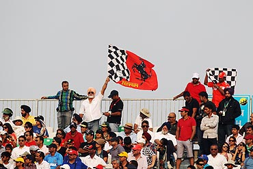 The big moment from Sunday's Grand Prix of India