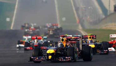 Inaugural Indian Grand Prix exceeds exp