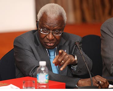 IAAF President Lamine Diack