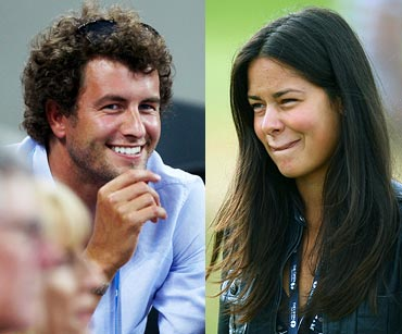 Adam Scott and Ana Ivanovic