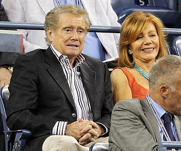Regis Philbin and his wife Joy