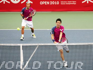 Kei Nishikori and Go Soeda
