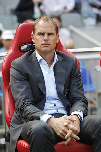 Ajax Amsterdam head coach Frank de Boer