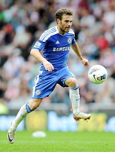 Juan Mata of Chelsea