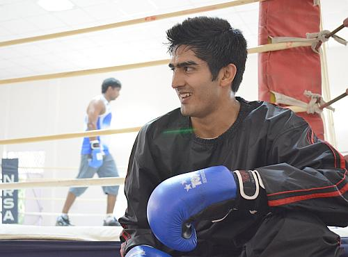 Last shot at Oly qualification but Vijender not nervous