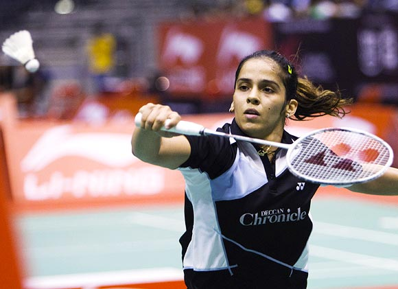 Saina is currently ranked fifth behind four Chinese players