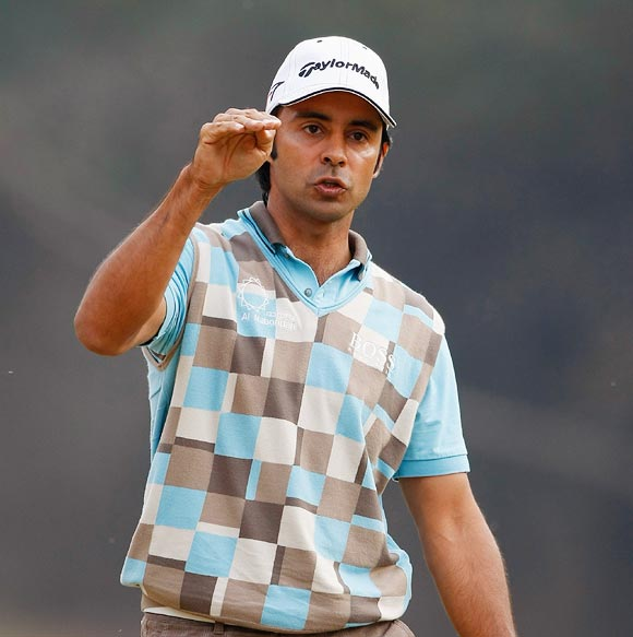 Veteran Jyoti Randhawa finished 2nd in the Panasonic Open