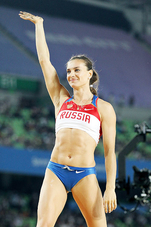 Golden pole vaulter Isinbayeva to quit in two years