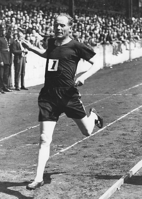 Olympic 5000m and 10,000m champion Paavo Nurmi
