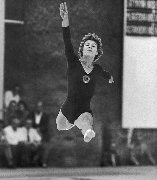 Russian gymnast Larissa Latynina