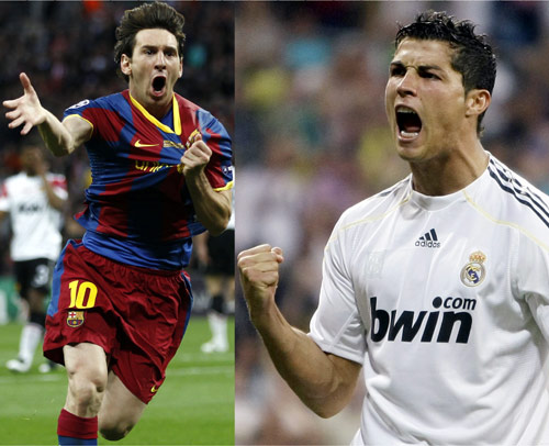 El Clasico high noon for Ronaldo and Messi