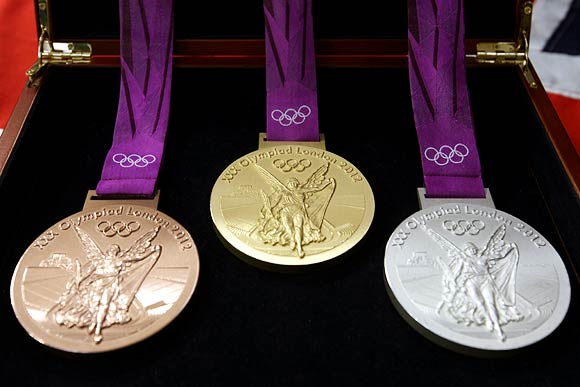 The largest and most valuable Olympic medals ever to be handed out