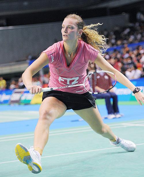 Tine Baun of Denmark