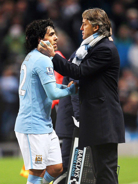 For us, it's different because it's the first time: Mancini