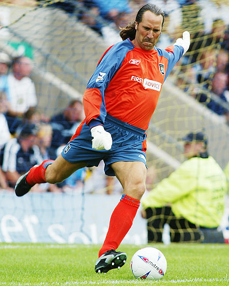 David Seaman of Manchester City