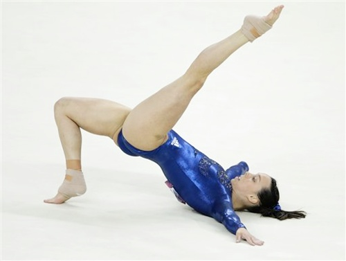 Gymnast Elizabeth Tweddle