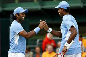 Paes-Vardhan go down fighting to Tsonga-Llodra