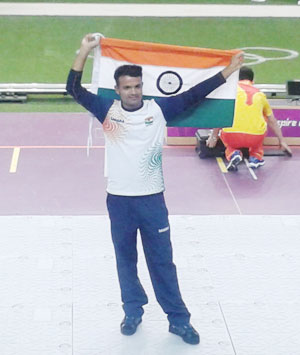 Congratulate Vijay Kumar on his Olympic silver