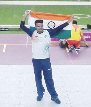 Congratulate Vijay Kumar on his Olympic silver