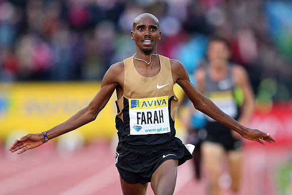 Mo Farah will bid to become the first Briton to win a long distance gold