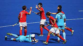 Indian hockey team's misery at the Games continues