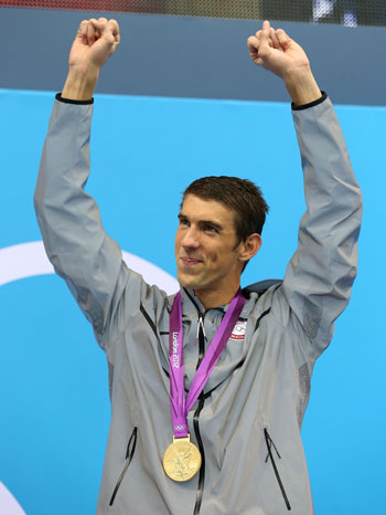 Fitting finale: Michael Phelps retires with one last gold