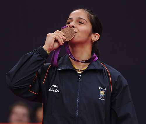 Gopichand, Kashyap bask in Saina's bronze win