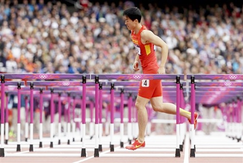 China's Liu Xiang hops off the track