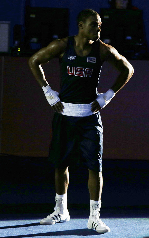 United States' Errol Spence