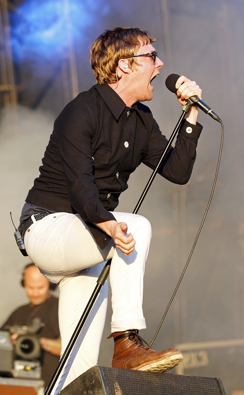 Ricky Wilson of the British band Kaiser Chiefs