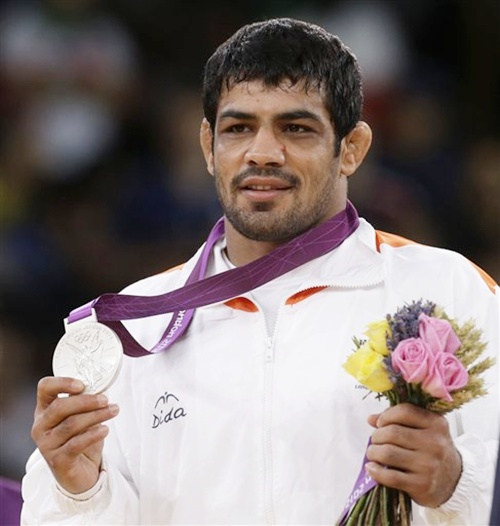 Sushil Kumar of India