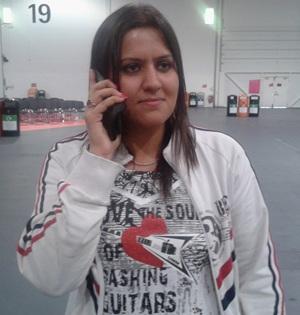 Sushil Kumar's wife Savi