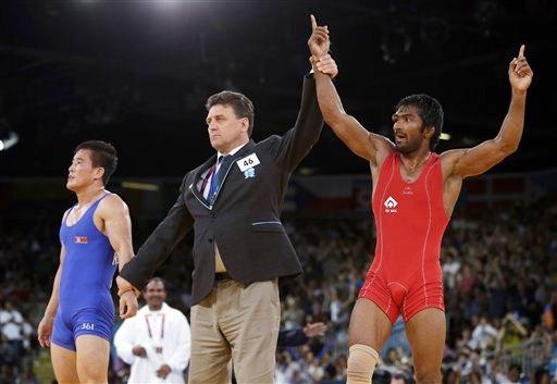 Grappler Yogeshwar Dutt clinches bronze