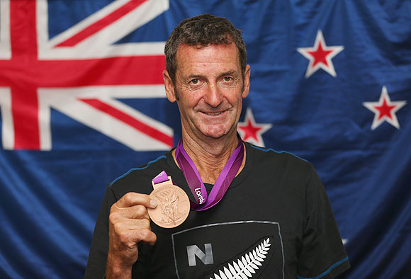 Mark Todd of New Zealand