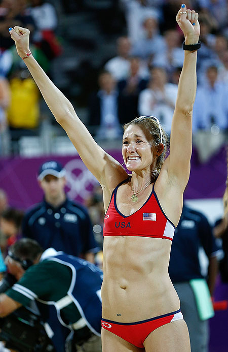 Kerri Walsh Jennings of the United States