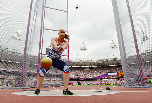 Sophie Hitchon of Great Britain