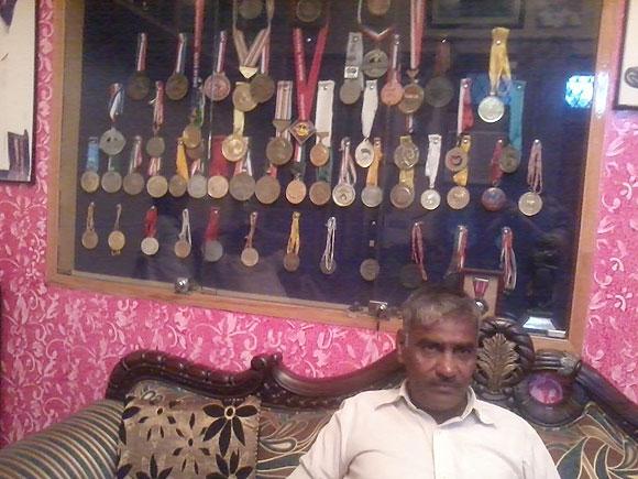 Sushil Kumar's father Diwan Singh