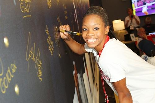 US Olympian Gabrielle Douglas