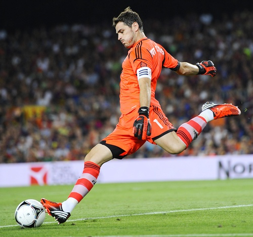 Iker Casillas of Real Madrid