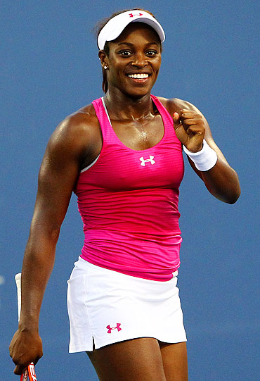 Sloane Stephens of the United States