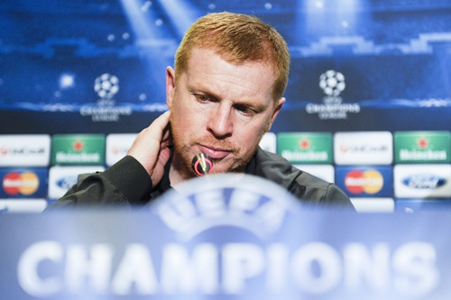 Manager Neil Lennon of Celtic FC