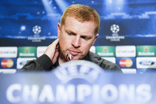 Manager Neil Lennon of Celtic FC