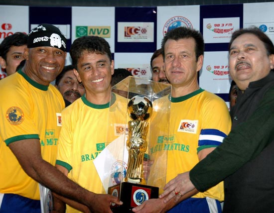Nine former World Cuppers in Brazilian team