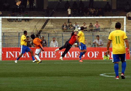 Dunga scored Brazil's third goal