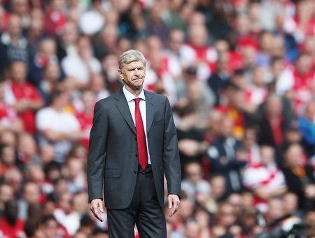 Fans will be questioning the future of Wenger