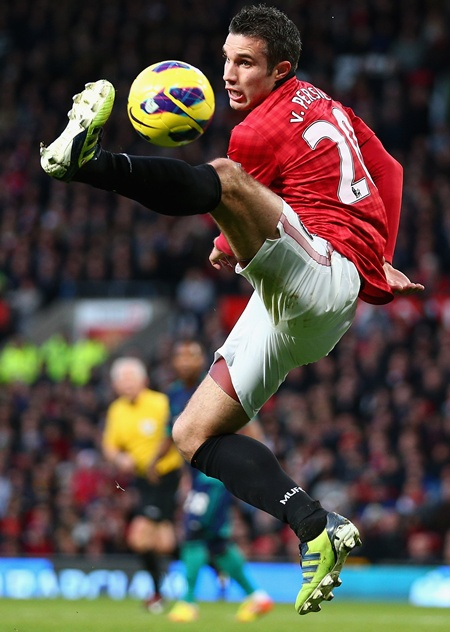 Robin van Persie of Manchester United