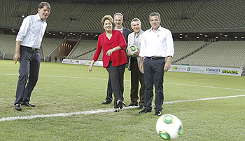 Brazil WC stadium inauguration on Sunday